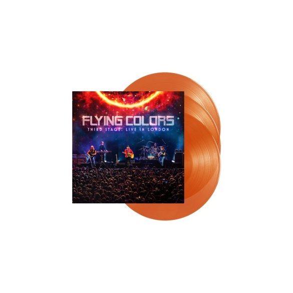 FLYING COLORS Third Stage:Live In London /vinyl bakelit/3xLP