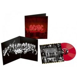 AC/DC - Power Up / limitált opaque red vinyl bakelit / LP