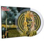 IRON MAIDEN - Iron Maiden / színes clear vinyl bakelit / LP