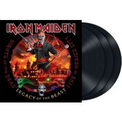 IRON MAIDEN - Nights of the Dead Live In Mexico City  / vinyl bakelit / 3xLP