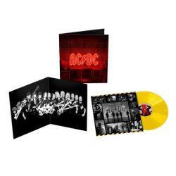 AC/DC - Power Up / limitált yellow vinyl bakelit / LP