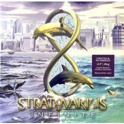 STRATOVARIUS - Infinite  / blue purple vinyl bakelit / LP