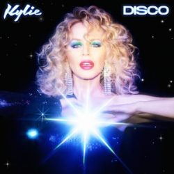 KYLIE MINOGUE - Disco / blue vinyl bakelit / LP