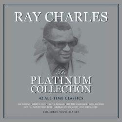 RAY CHARLES - Platinum Collection / színes vinyl bakelit / 3xLP