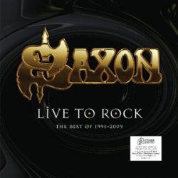 SAXON - Live To Rock Best Of 1991 - 2009 / vinyl bakelit / LP