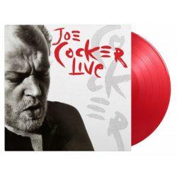JOE COCKER - Live / színes limitált vinyl bakelit / 2xLP