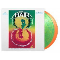 MUSICAL ROCKOPERA - Hair (Original Broadway Cast) / színes limitált vinyl bakelit / 2xLP