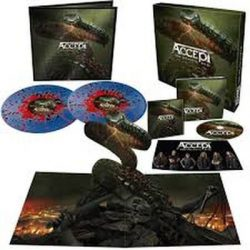 ACCEPT - Too Mean To Die / színes vinyl bakelit lp+cd  / LP BOX