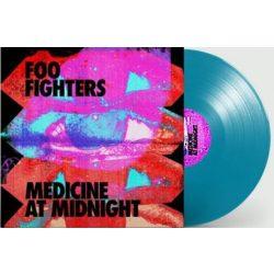 FOO FIGHTERS -  Medicine At Midnight / blue vinyl bakelit / LP