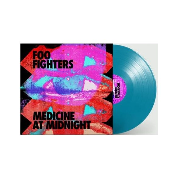 FOO FIGHTERS -  Medicine At Midnight / blue vinyl bakelit / LP