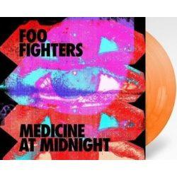 FOO FIGHTERS - Medicine At Midnight / orange vinyl bakelit / LP
