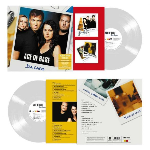 ACE OF BASE - Da Capo / clear vinyl bakelit / LP