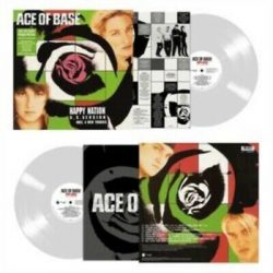 ACE OF BASE - Happy Nation U.S. version / limitált clear vinyl bakelit / LP