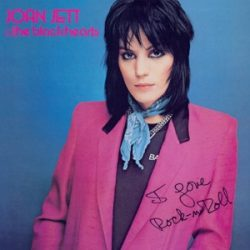JOAN JETT & THE BLACKHEARTS - I Love Rock 'N' Roll / vinyl bakelit / LP