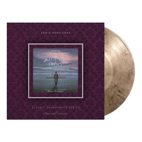 ENNIO MORRICONE - Legend of 1900 / limitált színes vinyl bakelit / LP