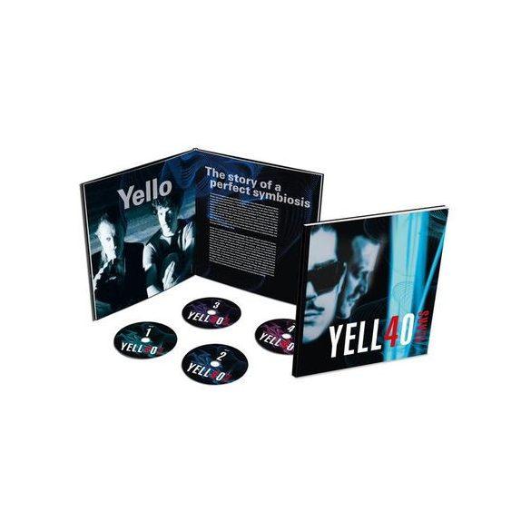 YELLO - Yell4o Years / limitált 4cd/ CD