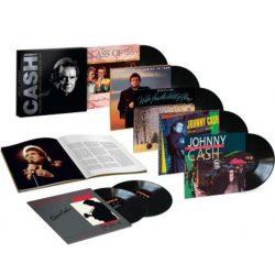 JOHNNY CASH -  Complete Mercury Albums 1986-1991 / vinyl bakelit box / 7xLP