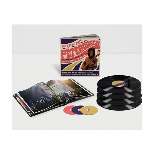 FLEETWOOD, MICK & FRIENDS - Celebrate the Music of Peter Green and the Early Years of Fleetwood Mac / vinyl bakelit box / LP