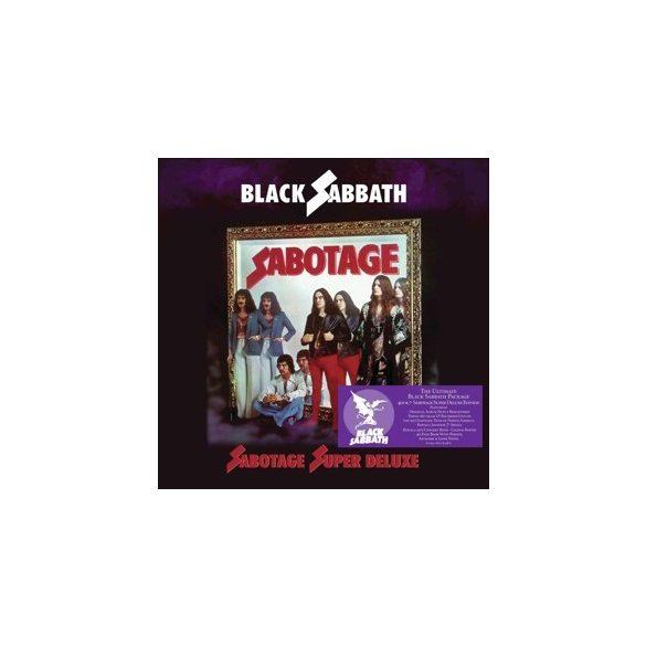 BLACK SABBATH Sabotage / vinyl bakelit box / 4xLP