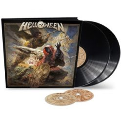 HELLOWEEN - Helloween /  Earbook, Lp+CD vinyl bakelit / 2xLP