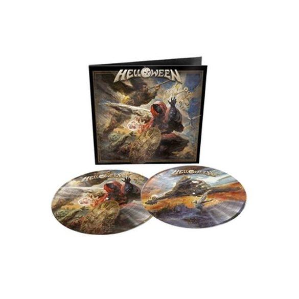 HELLOWEEN - Helloween / picture disc vinyl bakelit / 2xLP