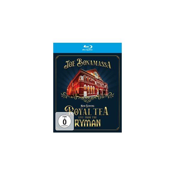 JOE BONAMASSA - Now Serving:Royal Tea Live From the Ryman Blu-Ray
