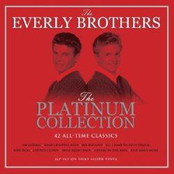 EVERLY BROTHERS - Platinum Collection / színes vinyl bakelit / 3xLP