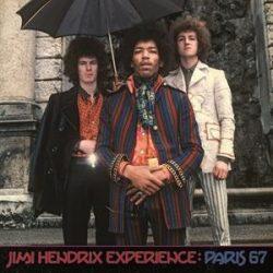 JIMI HENDRIX THE EXPERIENCE - Paris 67 / színes vinyl bakelit / LP