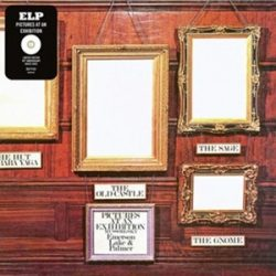 EMERSON, LAKE & PALMER - Pictures At An Exhibition / színes vinyl bakelit / LP