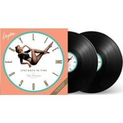 KYLIE MINOGUE - Step Back In Time  / vinyl bakelit  / 2xLP