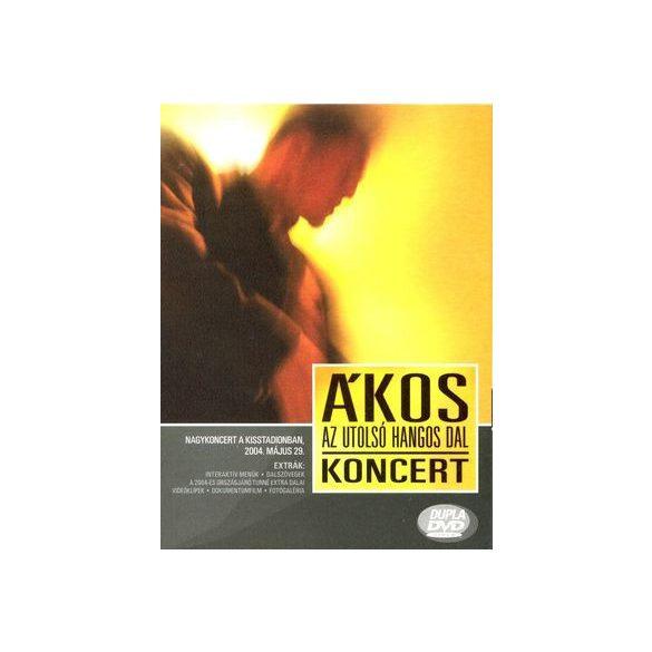 ÁKOS - Az Utolsó Hangos Dal DVD