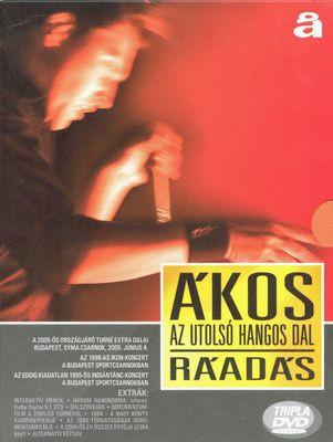 ÁKOS - Az Utolsó Hangos Dal Ráadás DVD