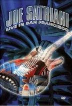 JOE SATRIANI - Live In San Francisco DVD