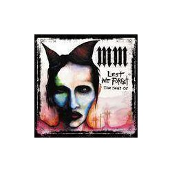 MARILYN MANSON - Lest We Forget(The Best Of CD