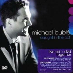 MICHAEL BUBLE - Caught In The Act /cd+dvd/ CD