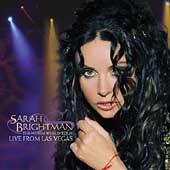 SARAH BRIGHTMAN - Live From Las Vegas CD
