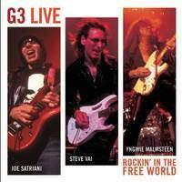 G3 - G3 Live Rockin' In The Free World (Satriani, Malmsteen, Vai) CD
