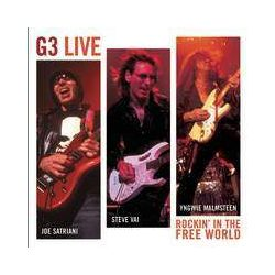 G3 - G3 Live Rockin' In The Free World (Satriani, Malmsteen, Vai) CD