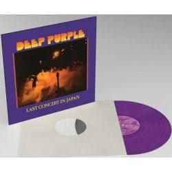 DEEP PURPLE - Last Concert In Japan / limitált színes vinyl bakelit / LP