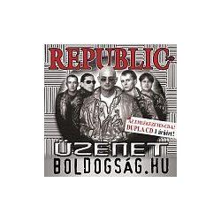 REPUBLIC - Üzenet/Boldogság:hu / 2cd / CD