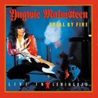YNGWIE MALMSTEEN - Trial By Fire Live In Leningrad CD
