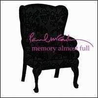 PAUL MCCARTNEY - Memory Almost Full (keleti version) CD