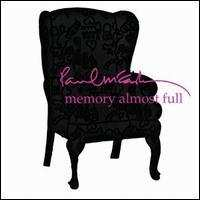 PAUL MCCARTNEY - Memory Almost Full (keleti version) CD
