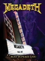 MEGADETH - Rust In Peace Live /dvd+cd/ DVD