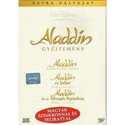 MESEFILM - Aladdin díszdoboz /Aladdin, Aladdin és Jafar,Aladdin és a tolvajok fejedelme/ DVD