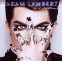 ADAM LAMBERT - For Your Entertaiment CD