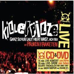 KILLERPILZE - Mit Pauken Und Raketen Live /cd+dvd/ CD