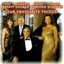 VÁLOGATÁS - Our Favourite Things / Bennet Church Domingo Williams / CD