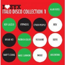 VÁLOGATÁS - I Love ZYX Italo Disco Collection vol.1. / 3CD