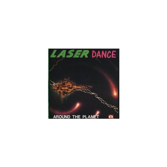 LASERDANCE - Around The Planet CD